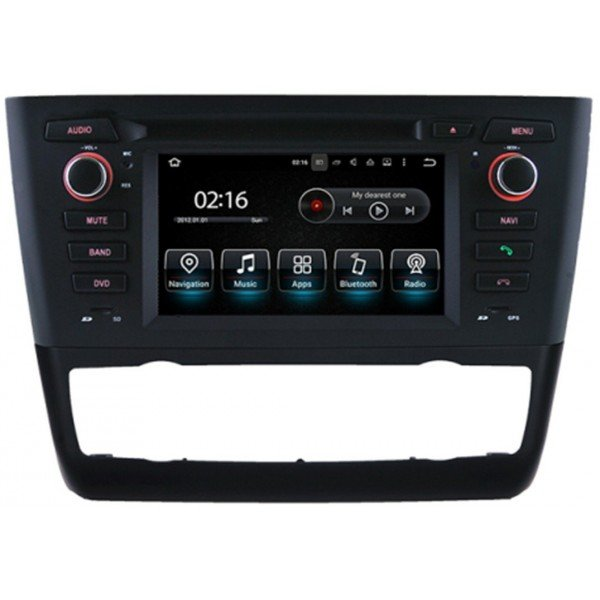 Radio GPS head unit BMW 1 Series E81, E82, E88 Android 10 TR3586