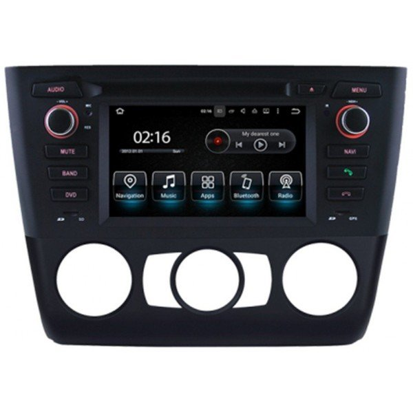 Radio GPS head unit BMW 1 Series E81, E82, E88 Android 10 TR3587