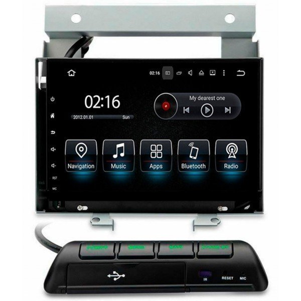 Radio GPS head unit Land Rover Freelander, Discovery Android 10 TR3593