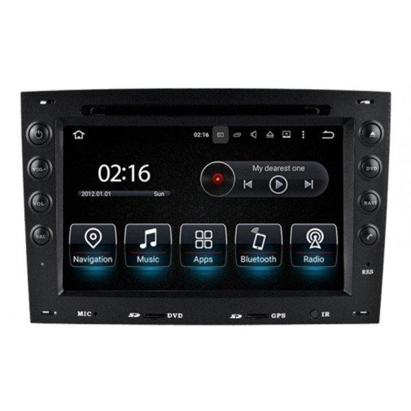 Radio GPS head unit Renault Megane 2 Android 10 TR2106
