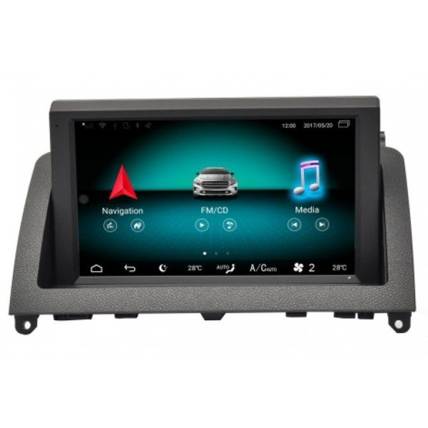 """Monitor 8"""" GPS Benz C Class W204 ANDROID TR1929"""