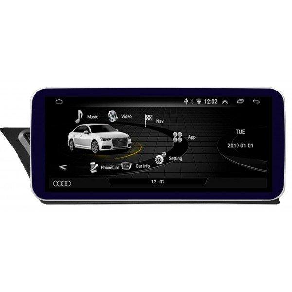 """12,3"""" GPS Audi A4 B8 / A5 ANDROID TR3596 12.3 12,25 navegador monitor pantalla"""