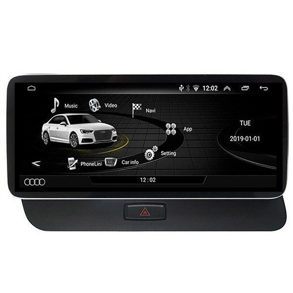 "12,3"" GPS Audi Q5 ANDROID TR3597 12.3 12,25 head unit monitor"