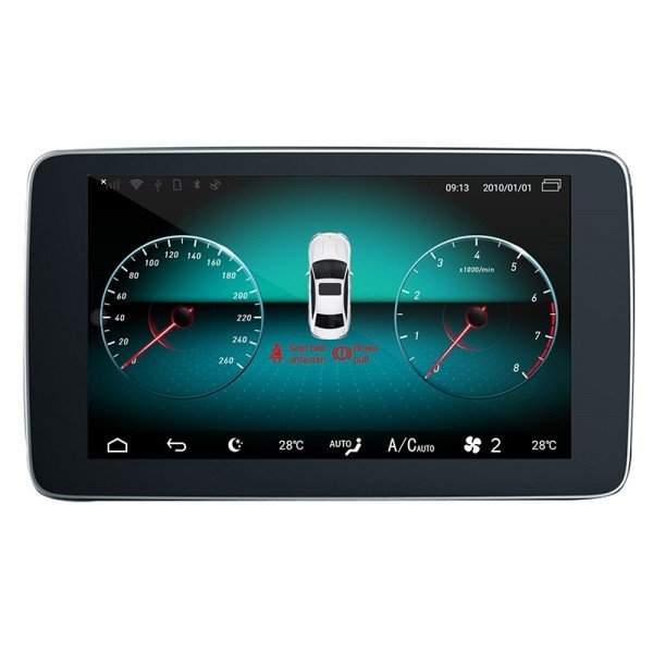 "Head unit 9"" GPS Benz A Class / CLA / GLA Android 10 TR3605"
