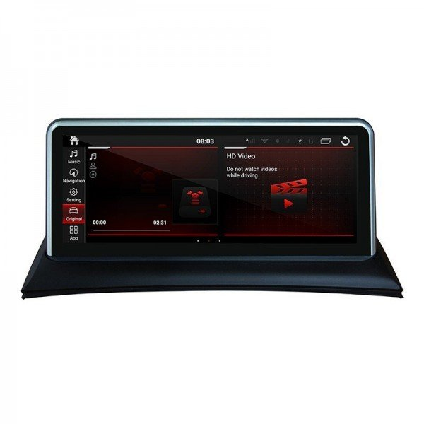 "Head unit 10.25"" GPS BMW 1 Series E81 E82 E87 Android 10 TR3619"