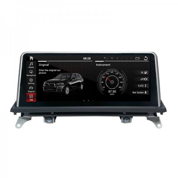 "Head unit 10.25"" GPS BMW X5 E70 & BMW X6 E71 Android 10 TR3624"