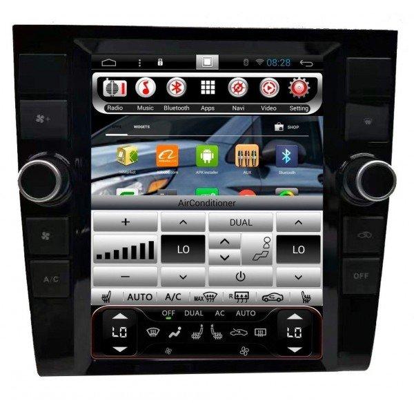 Radio navegador GPS tipo TESLA Audi A4