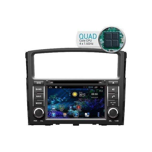 Radio DVD GPS HD QUAD CORE ANDROID Mitsubishi Montero REF: TR1774