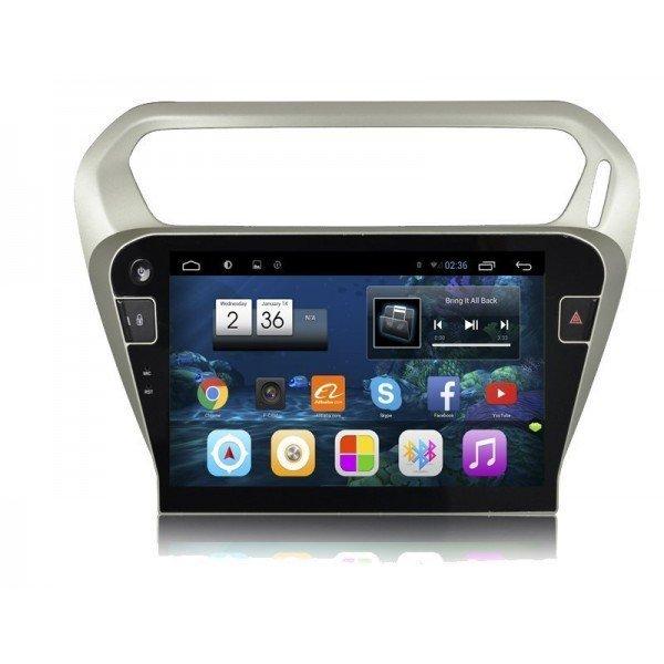 "Radio monitor 10.2"" GPS HD Citroen C-Elysee ANDROID PURO REF: TR2478"