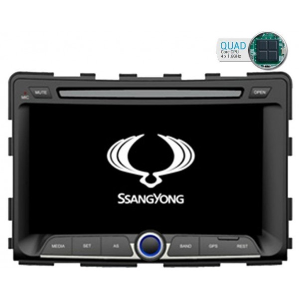 ssangyong gps android