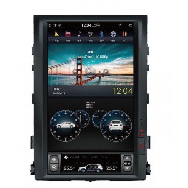 Radio GPS ANDROID TESLA STYLE Land Cruiser LC200