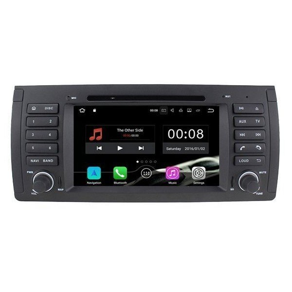 Radio DVD GPS BMW 5 Series E39 and X5 E53 ANDROID 9.0 REF: TR2496