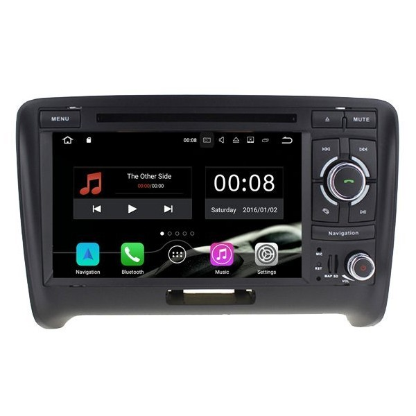 Radio DVD GPS Audi TT ANDROID 9.0 TR2500