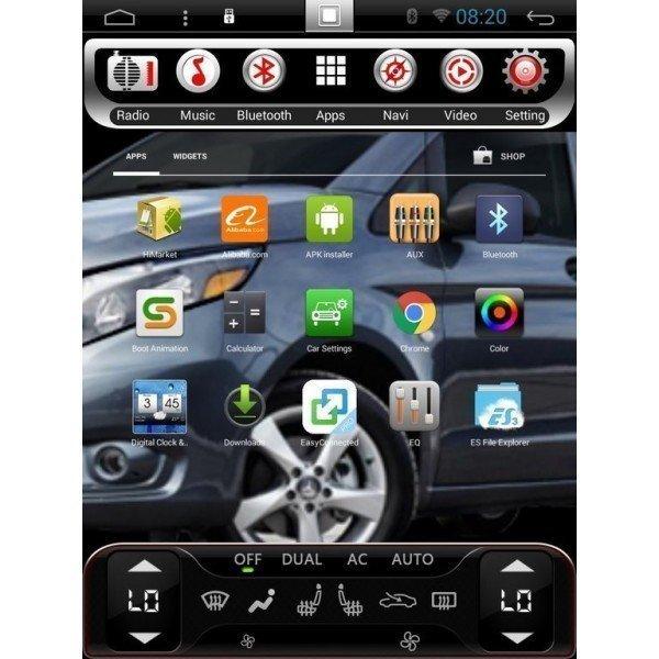 Radio GPS ANDROID TESLA STYLE Honda Civic