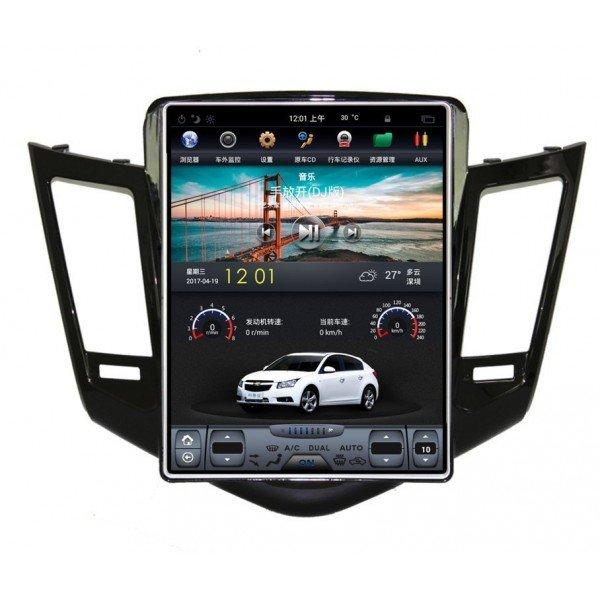 Radio GPS ANDROID TESLA STYLE Chevrolet Cruze