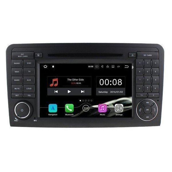 Radio DVD GPS Mercedes ML W164 / GL X164 ANDROID 9