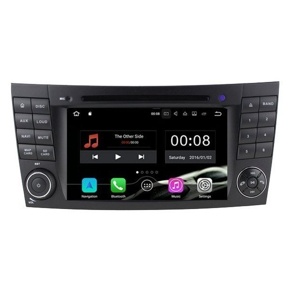 Radio DVD GPS Mercedes E W211 ANDROID