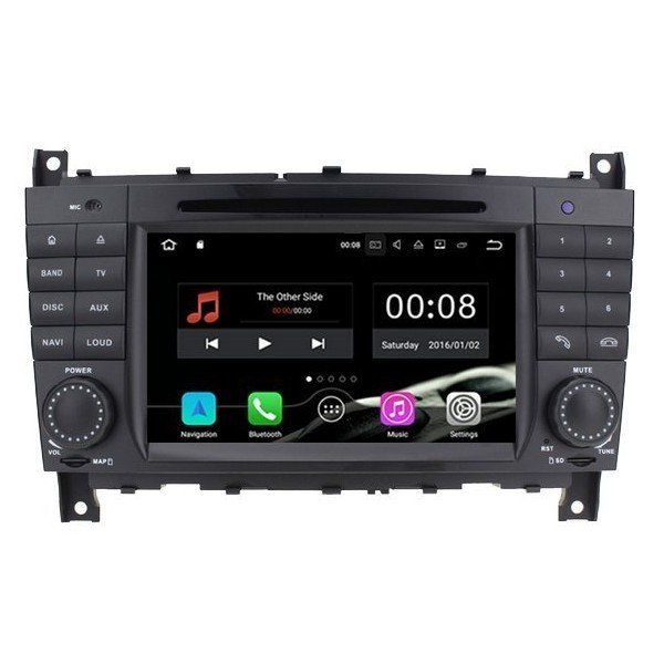 Radio DVD GPS Mercedes Benz C W203