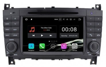 Radio GPS head unit Mercedes Benz C W203 / SportCoupe Android 10 TR2524