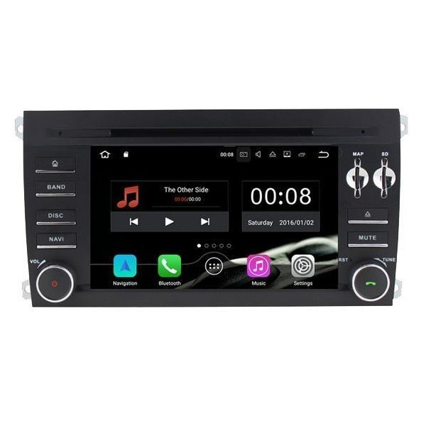 Radio DVD GPS Porsche Cayenne ANDROID 9.0 REF: TR2528