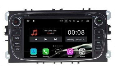 Radio GPS head unit Ford black colour Android 10 TR2532