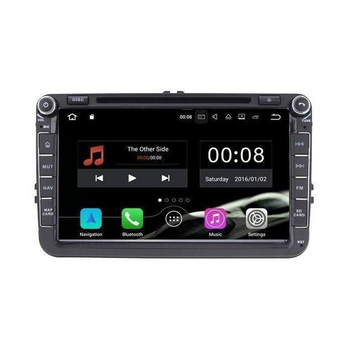 Radio DVD GPS Volkswagen / Seat / Skoda ANDROID 8.1 REF: TR2535