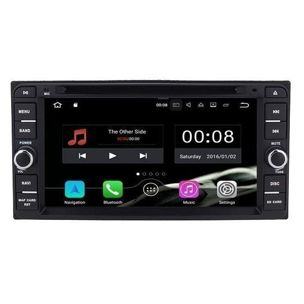 Radio DVD GPS Toyota Universal ANDROID