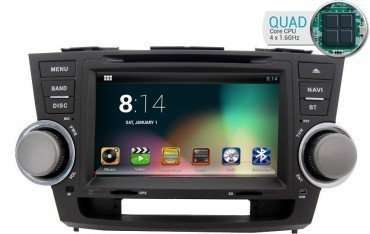 Radio navegador Toyota Highlander GPS Android TR1816