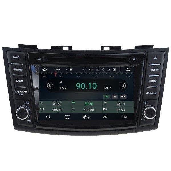 navegador Suzuki Swift GPS 4G
