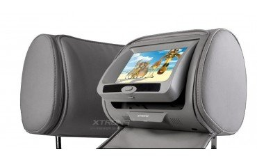 2 LCD Headrest with DVD, USB, SD Card and games. REF: TR1435