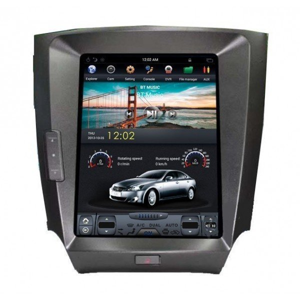 Radio GPS head unit TESLA STYLE Lexus IS