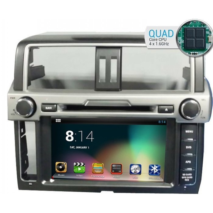 GPS Toyota Land Cruiser 200