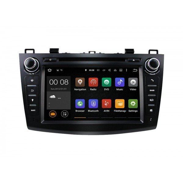 Radio DVD GPS Mazda 3 ANDROID 9 TR2565