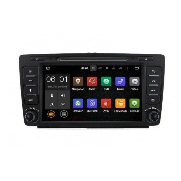 Radio DVD GPS Skoda Octavia ANDROID 9 REF: TR2566