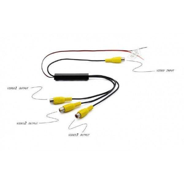 Adaptador RCA de 1 a 3 canales REF: TR2576