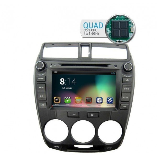QUAD CORE Honda City Android