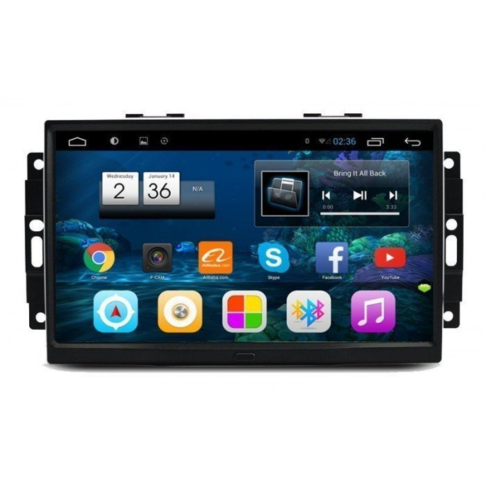 "Radio monitor 9"" GPS HD Chrysler 300C PURE ANDROID REF: TR2591"