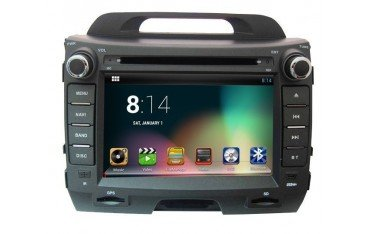 Radio navigation system for Kia Sportage R with GPS ANDROID TR1824