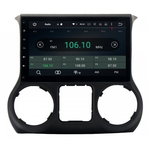 GPS Jeep Wrangler ANDROID