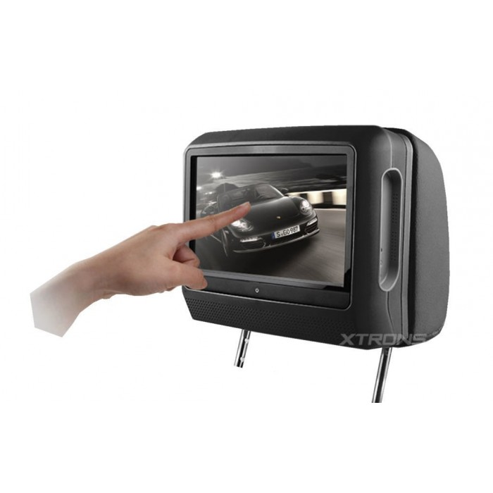 2 LCD Headrest with DVD, USB, SD Card and games. REF: TR1437