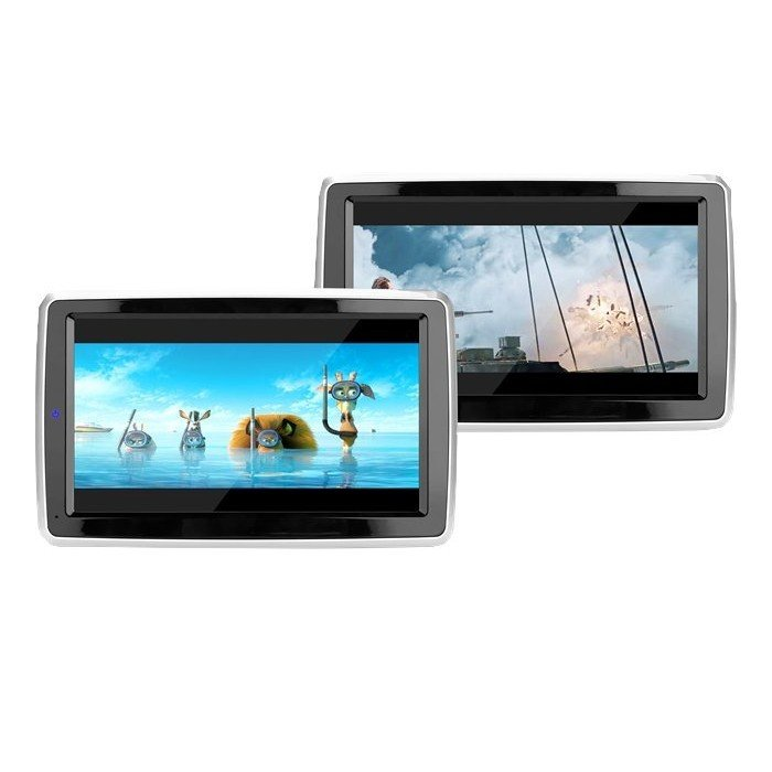 android headrest lcd monitor with stand