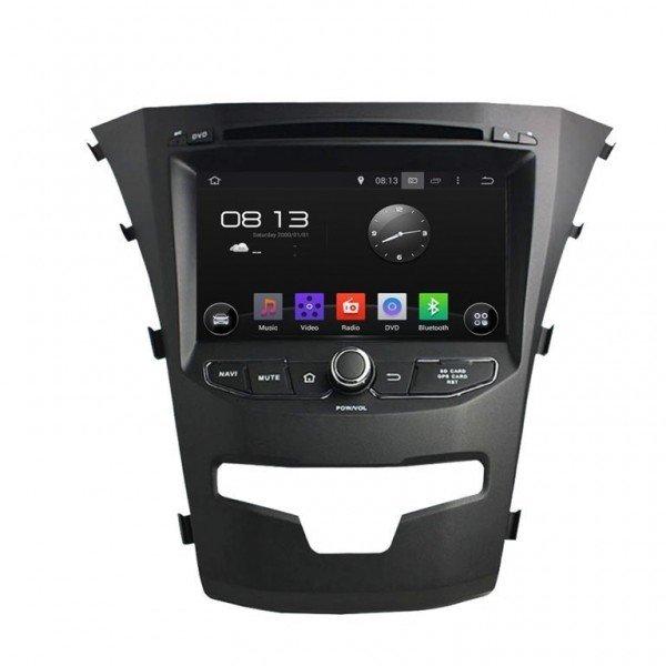 Radio GPS Android 9.0 Octa Core Korando 2014