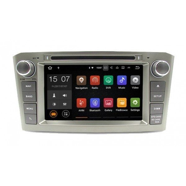 Radio DVD GPS Toyota Avensis T25 ANDROID