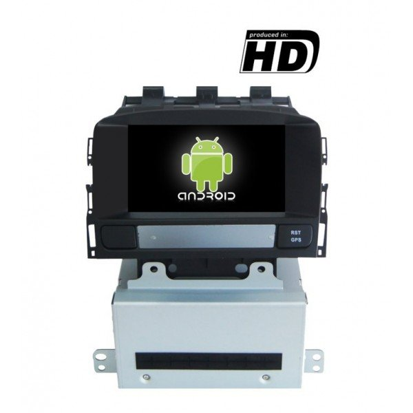 Radio DVD GPS HD Opel Astra J ANDROID PURO REF: TR1839