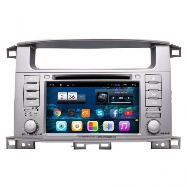"Radio monitor 7"" GPS HD LAND CRUISER 100 PURE ANDROID REF: TR2641"