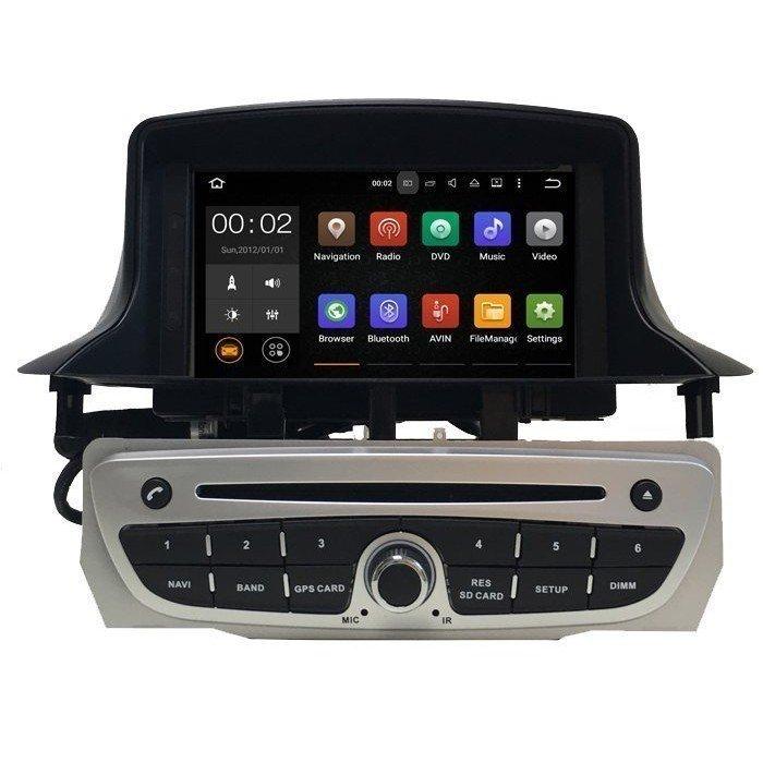 "Radio DVD 7"" GPS RENAULT MEGANE 3 ANDROID TR2646"