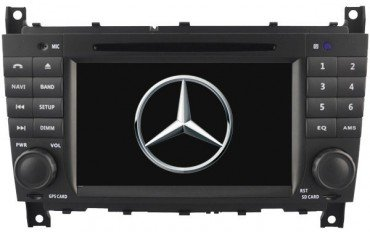 Radio GPS head unit Mercedes C W203 / SportCoupe Android 10 TR2662