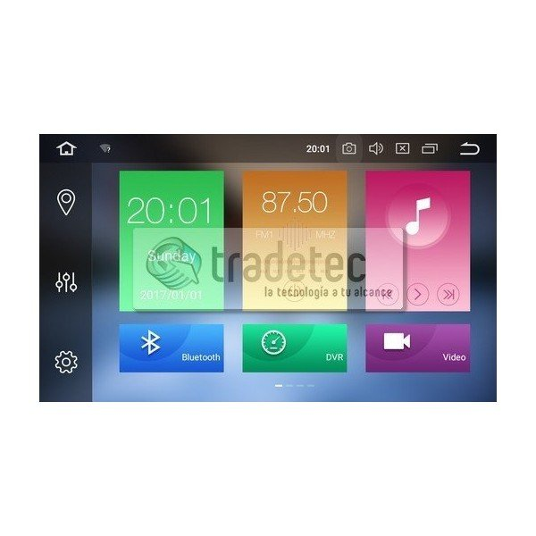 GPS Android 9,0 OCTA CORE 4GB RAM Mercedes W203