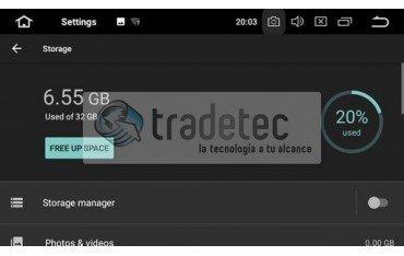 GPS Android 9,0 OCTA CORE 4GB RAM TOUAREG
