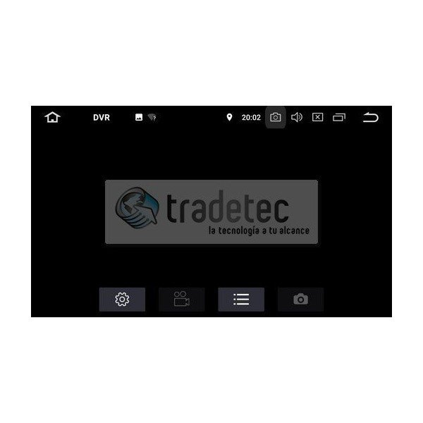 GPS Android 9,0 OCTA CORE 4GB RAM FORD REF:TR2697 | Tradetec